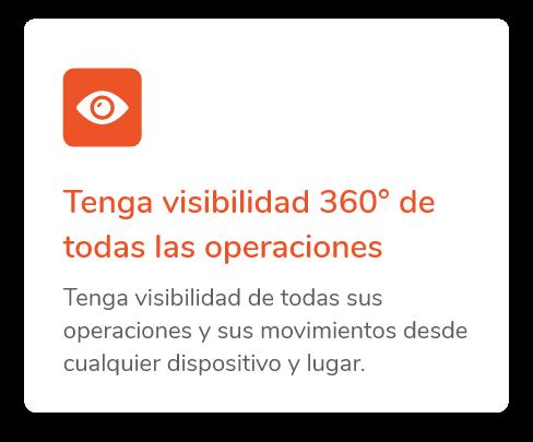 visibilidad de operaciones comex
